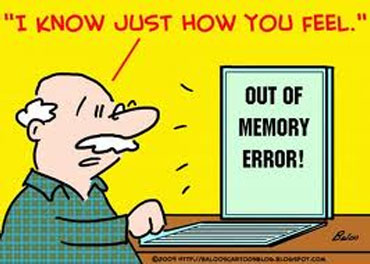 Forgetting : When Memory Fails